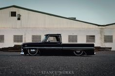 Aesthetics – The Iconic Beauty of Dave Cantrell's 1966 C10 GMC Shortbed Fleetside – Captured by Keith Ross - Stanceworks.com
