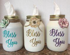 Bless You Kleenex Jars!