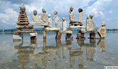 Stone balance composition in Hungary by Tamas Kanya https://www.youtube.com/watch?v=VXENpvSmJr0