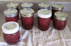 Honey Sweetened Low Sugar Strawberry Jam and Strawberry Banana Jam