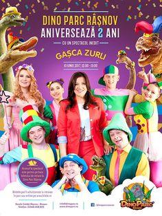Dino Parc Rasnov aniverseaza 2 ani alaturi de Gasca Zurli Movies, Movie Posters, Films, Film Poster, Cinema, Movie, Film, Movie Quotes, Movie Theater