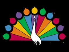 """NBC peacock...always begged mom t see the """"previews"""" for next weeks show before we had to go to bed"""