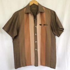 A personal favorite from my Etsy shop https://www.etsy.com/listing/292533215/vintage-bowling-shirt-50s60s-mens