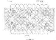 Resultado de imagen para patrones de bolsos de encaje de bolillos