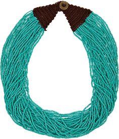 Kenneth Jay Lane Multi-strand beaded necklace on shopstyle.com