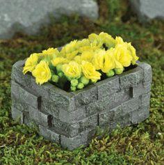 """Stackable Medium Planter for Fairy Garden 5"""" Long"""