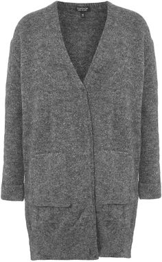 Womens grey cardigan from Topshop - £40 at ClothingByColour.com