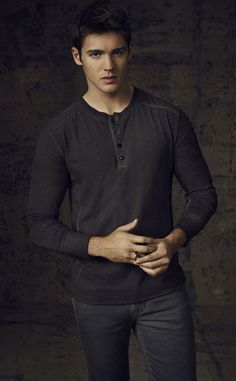 Steven R. McQueen(aka jermey gilbert) from the vampire diaries!!!:)