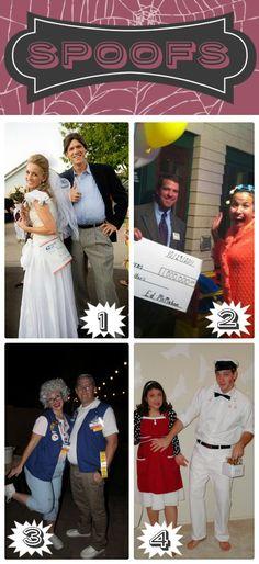 Cute costumes!  I'm lovin' #1- Mail Order Bride- ha ha ha