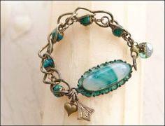 Bracelet by Melinda Barnett Featured in Jewelry Affaire Magazine