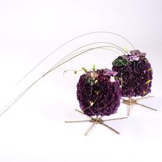 Textile Industry, Tablescapes, Floral Design, Textiles, Wreaths, Purple, Instagram, Color, Cube