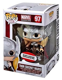 Pop! Marvel Thor Secret Wars Vinyl Figure Exclusive...