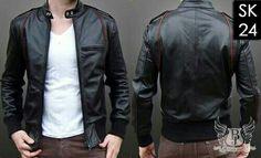 jaket kulit ariel sk24 pin bb 2b888249