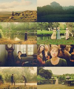 colour meme: pride and prejudice in green British Literature, Classic Literature, Elizabeth Bennet, Jane Austen Movies, Pride And Prejudice 2005, Matthew Macfadyen, Mr Darcy, Fictional World, Film Serie