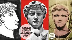 #Ancient #Statues #Art by @LukeEdwardHall @ARTandHUE @Cardan55 http://homeartyhome.com/ancient-statues-in-modern-print/ @HomeArtyHome