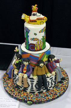 missing title and artist info by Dork-Chocolate, via Flickr.......  But we can see it's The Beatles!!