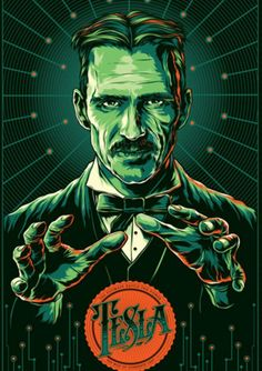 "Nicola Tesla  by Ken Taylor - ""What we call soul or spirit, is nothing more than the sum of the functioning of the body."" - Tesla."