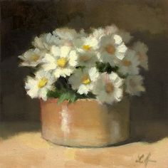 """Daisies"" original fine art by Linda Jacobus"