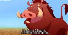 Hakuna Matata, The lion king