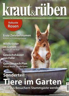 Tiere im Garten. Gefunden in: kraut & rüben, Nr. 2/2016