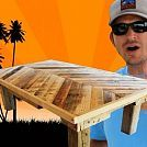 How To Build A Coffee Table Out Of Pallet Wood.