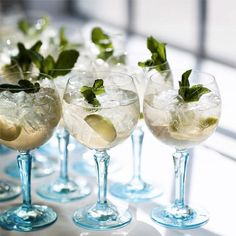 Our #BOMBAYSAPPHIRE balloon glasses are crafted so you can enjoy the sublime botanical aromas of  an Ultimate Gin & Tonic.