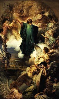 Gustave Doré The Ascension 1879 Musée du Petit Palais Paris