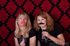 Free Printable Lips & Mustache Photo Props by Amy Locurto http://LivingLocurto.com