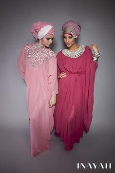 Turban hijab. I wouldn't wear it, but it's so pretty! :)