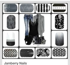 Nail wraps you can coordinate with any outfit for any occasion! Browse the link below and buy 3 get 1 FREE!! Apply with heat and stays on 2 weeks! #Nails #Nailart #Nailwrap #Jamberry