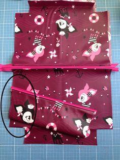 Tutorial: Eine zusätzliche Reißverschlusstasche einnähen   lillesol & pelle Schnittmuster, Ebooks, Nähen