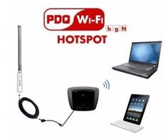 PDQ 7010A-KIT Allpro Wifi Boost Kit and Hotspot, As Shown