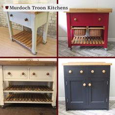 Kitchen Units, Kitchen Cart, Kitchen Ideas, Freestanding Kitchen, The Unit, Range, Cabinet, Storage, Handmade