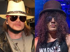 Slash & Axl Rose End Feud? Former Guns N' Roses Guitarist Confirms They're on Friendly Terms