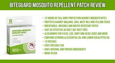 BiteGuard Mosquito Repellent Patch Review 12Hour Protection Against Mosquito Bites