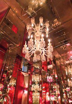 Le Cristal Room, Baccarat, Paris (design par Philippe Starck)