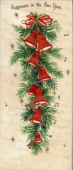 Very Merry Vintage Syle: Happy New Year! {Vintage New Year's Cards} I remember how wonderful this life was