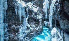 Partnachklamm im Winter - Ein wirklich toller Ausflug für die ganze Familie.  http://xn--schne-aussicht-xpb.de/partnachklamm-im-winter/