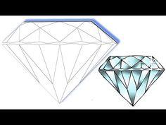 comment dessiner des diamants