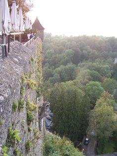 Castle view from Salzburg Austria