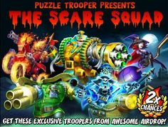 The Scare Squad!!! I Want!!!