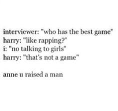 I love Harry Styles