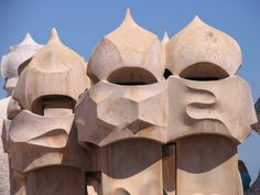 Barcelona, Gaudi, Spanien, Guell, Architektur, Park