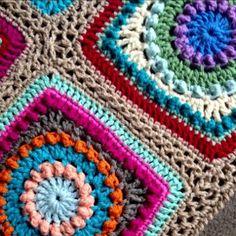 Free Pattern: Textured Circles