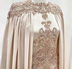 Abaya Fashion, Muslim Fashion, Modest Fashion, Fashion Dresses, Muslimah Wedding Dress, Muslim Wedding Dresses, Elegant Dresses, Pretty Dresses, Beautiful Dresses