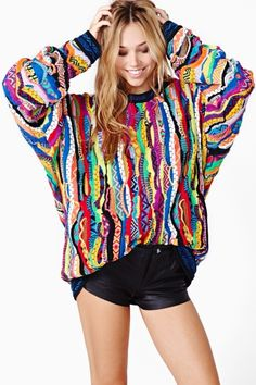 Brooklyn Coogi Sweater. LOVE, but why must you be so expensive?