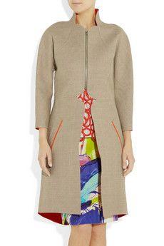 Lela rose reversible coat