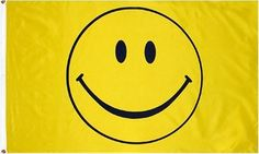 Happy Face (Smiley yellow) Flag: 3x5ft poly by Other Flags, http://www.amazon.com/dp/B000G2OYWM/ref=cm_sw_r_pi_dp_KlTfsb1HRFW0H