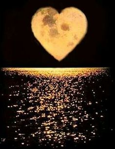 I will love you forever even if we are far apart . You live in my heart ❤️. how that happened I don't know but just know that you're there and I could never forget you . I Love Heart, With All My Heart, Happy Heart, Heart In Nature, Heart Art, Animiertes Gif, Heart Images, Heart Pics, Beautiful Moon