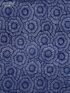 Stacy Garcia's Wild Poppies flocked wall covering printed in metallic and nonmetallic inks on nonwoven unpasted paper backing by York Wallcoverings Contract. These 40 Fabrics and Wallcoverings Bring a Slew of Bold New Patterns and Textures